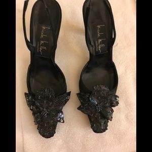 Nicole Miller Collection Black Heels